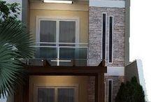 Modelo de faixada de casas