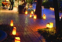 Indian outdoor wedding / Description of elements for the outdoor night wedding