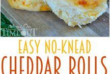 Easy cheddar roll