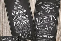 Fiona & Matt Stock the Bar / by Melyssa Ranton