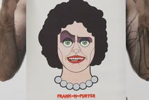 Tim Curry / My Vector Portrait  https://www.etsy.com/it/listing/385162156/rocky-horror-picture-show-frank-n-furter?ref=shop_home_feat_4