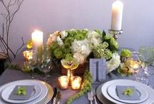 May wedding inspiration: greens, ivory, and retro-ish