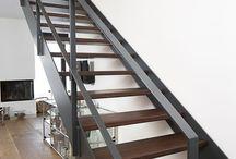 schody, galéria