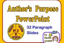 Author's Purpose / by Renee Schloss