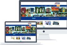 تصميم وبرمجة موقع شركة الأهرام للفايبرجلاس