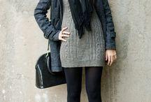vestido invierno