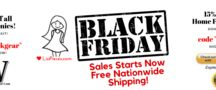 Black Friday sale has begun! Free Shipping!