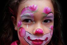 schmink clown