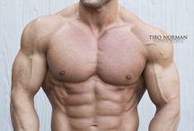 muscular titans