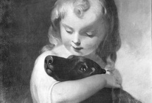 A Girl's Best Friend / Portraits of young ladies and their canine companions found in the Frick Art Reference Library's Photoarchive collection and Frick Digital Collections. To explore our online collections, please visit: http://digitalcollections.frick.org/