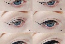 pintar los ojos