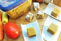 Tabletes de caldo de legumes saudavel