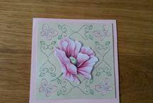 zelfgemaakte kaarten / selfmade cards