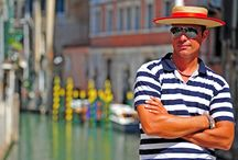 Venice - Italy / Around the backstreets and canals after seeing the sights