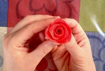 Connie Viney's Sugar-Paste Rose Tutorial / Cake artist Connie Viney demonstrates how to create beautiful sugar-paste roses!