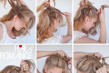 Hair braids / High crown braid