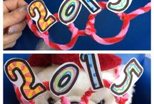New Years Craft / Fantastic fun new years craft to enjoy the the New Years with the kids!