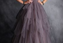 Тюлевые платья
