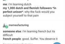 Ah... le français!