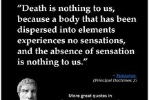 Epicurus says
