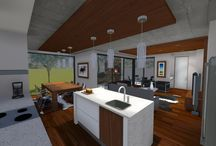 Open Plan Kitchen  / At Earp we have the best professional design team to make your dream home a reality - www.earp.co.za