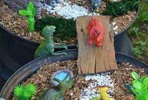 летний макет динозаврия