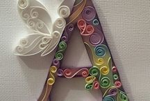 Paper flowers & quilling