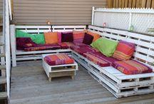 7 – Sitzkissen und Decken