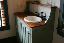 "Bathroom re-do ideas... / Not really a ""re-do"" - more of a gutting (sledgehammer might be required!)"