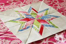 šití patchwork