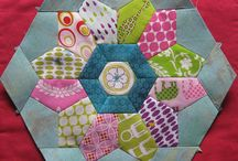 •♥✿♥• Quilting ~ English Paper Piecing •♥✿♥•