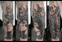 Andreas von Cotta tattoo / Tattoos and tattoo related art by Andreas von Cotta, Copenhagen, Denmark