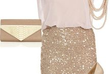 Skirt sequin