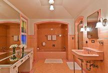Orange Bathroom & Accessories