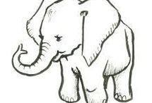 my love elephants