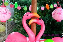 Flamingo Birthday Party *: ) / by Shantelle M. Paredes