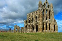 Living List - visit Whitby Abbey / Pictures and information about Whitby Abbey (in Whitby, England)   / by Karen Andrews