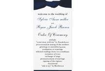 Wedding programs / custom wedding programs, wedding ceremony programs #wedding