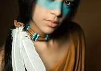 indiaan schmink