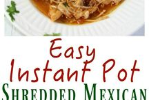 Instant Pot Main Dishes