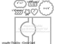 thinlits cercle card