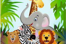 Birthday theme jungle