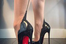 Nylons feet