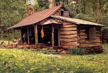 Old cabins / by John Brown