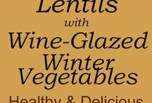 Vegan Lentil Dishes