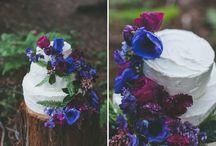 Purple and blue fairytale wedding inspiration