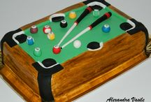 Pool table cake / Pool table cake