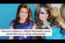 Llueven críticas a Alicia Machado como Jenni Rivera ¡y ni ha estrenado!