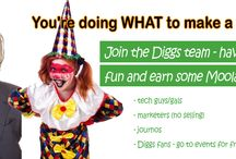 Student Jobs at Diggs and other places / Want to work while you put yourself through varsity, college or tech?  Give us a shout.  Must be in South Africa.  Must be a registered student.  diggsinfo@diggs.co.za / www.diggs.co.za