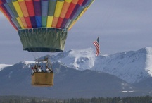 Winter Ballooning / Rise with the hot air in a winter wonderland. It's almost always 20-40 degrees warmer up in the air. View peaks into 5-7 counties, including Rocky Mountain National Park. Call 970-887-1340